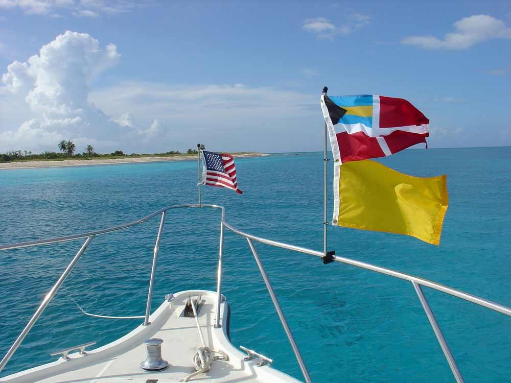 Ecotourism on Cay Sal, Bahamas