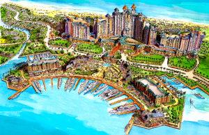 artist rendering of Grand Bahamas resort